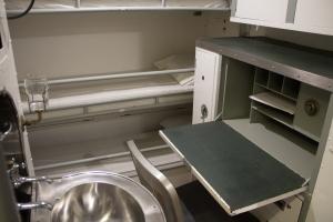 Sub bedroom/office with a bonus sink