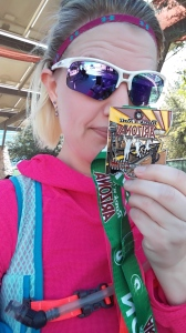 Finished and earned that medal!