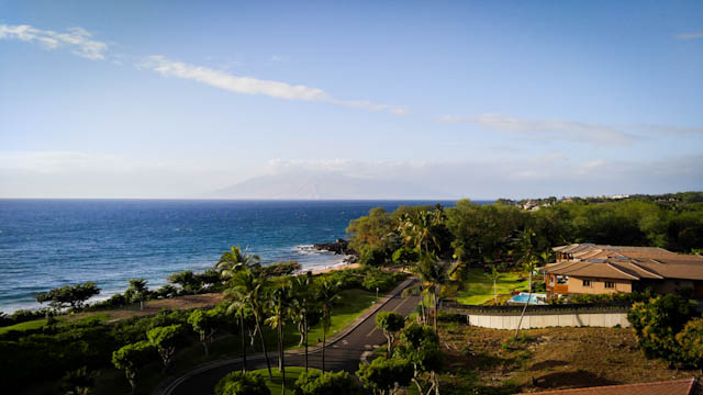 Another view from our room at Makena Beach and Golf Resort